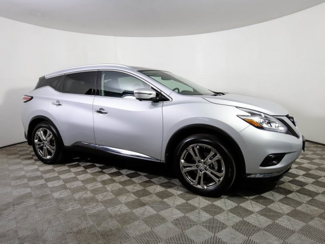 Certified Pre-Owned 2018 Nissan Murano *CERTIFIED* PLATINUM AWD ROOF HTD COOL LTHR BOSE