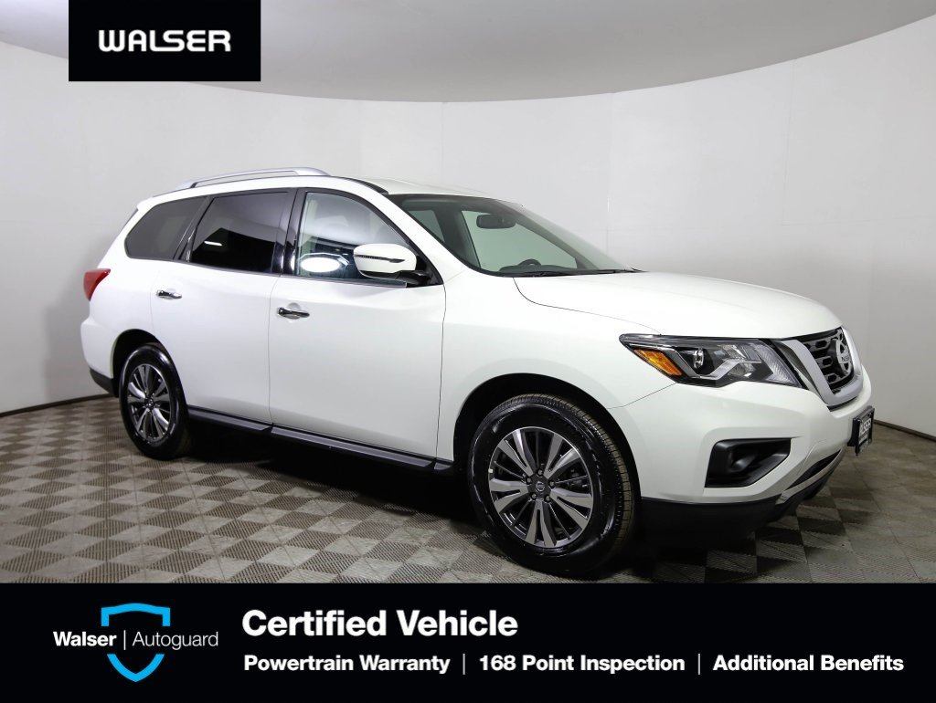 Pre-Owned 2019 Nissan Pathfinder 3RD ROW SV BU CAM