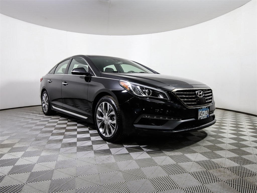 Certified Pre-Owned 2015 Hyundai Sonata Limited 2.0T Pano Nav