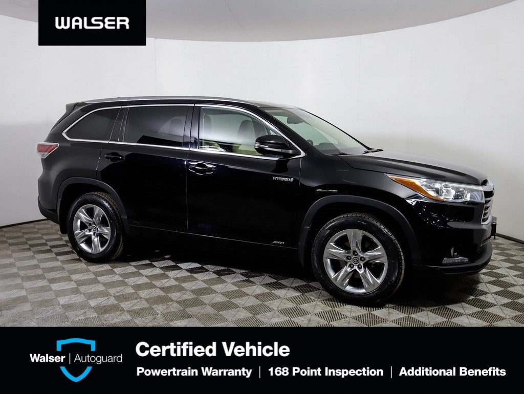 Pre-Owned 2016 Toyota Highlander Hybrid HYBRID LIMITED DVD