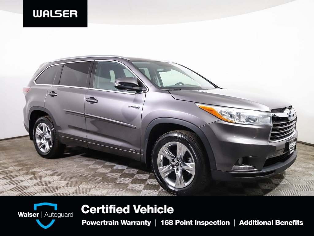 Pre Owned 2016 Toyota Highlander Hybrid Limited Awd