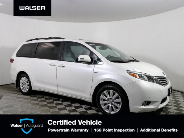 Pre-Owned 2016 Toyota Sienna Limited Premium AWD
