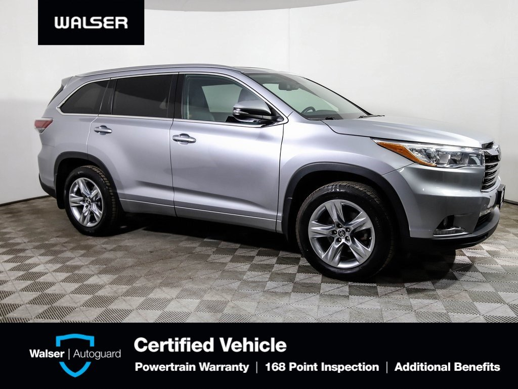 Pre Owned 2016 Toyota Highlander Limited Awd