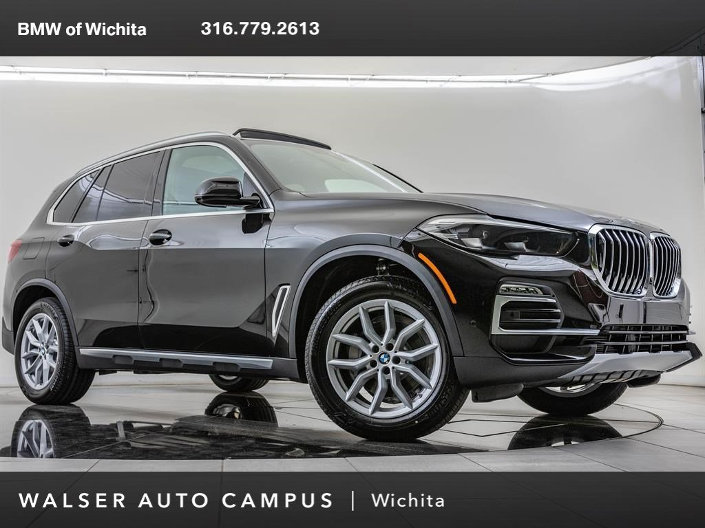New 2019 BMW X5 xDrive40i With Navigation & AWD