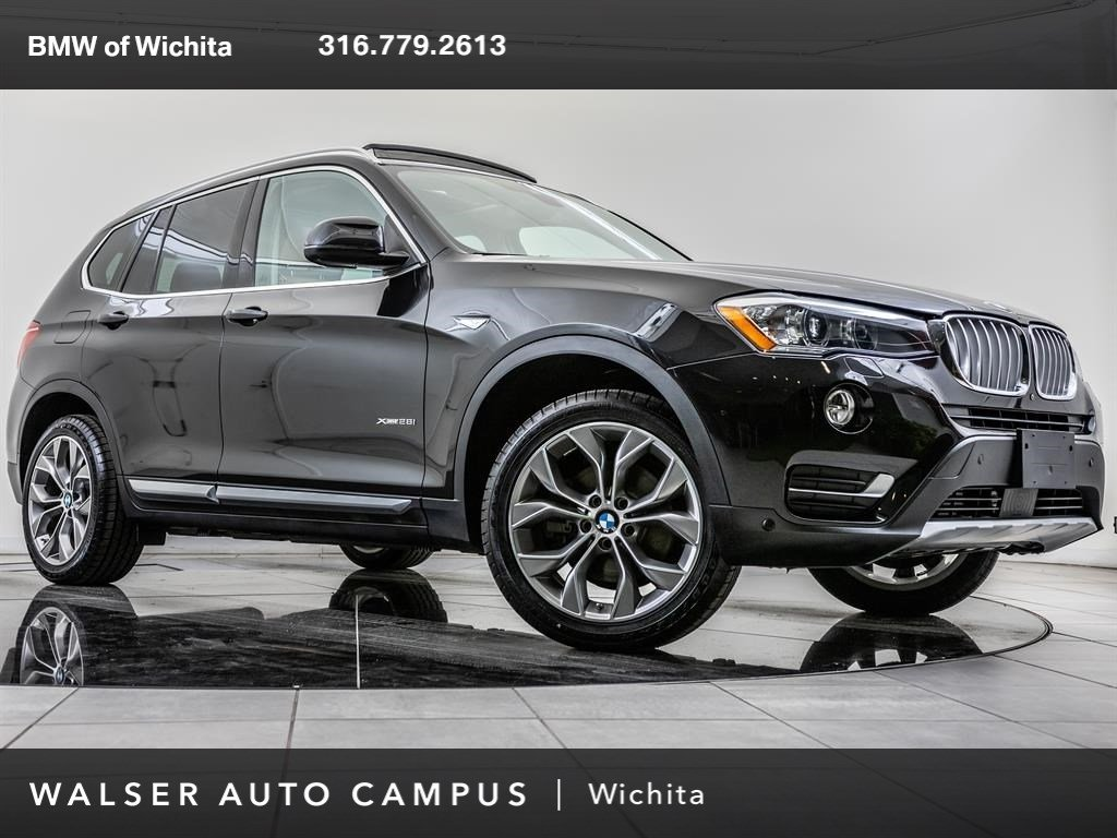 Certified Pre-Owned 2016 BMW X3 xDrive28i, Drvr Asst Plus Pkg, Tech Pkg, Prem Pkg