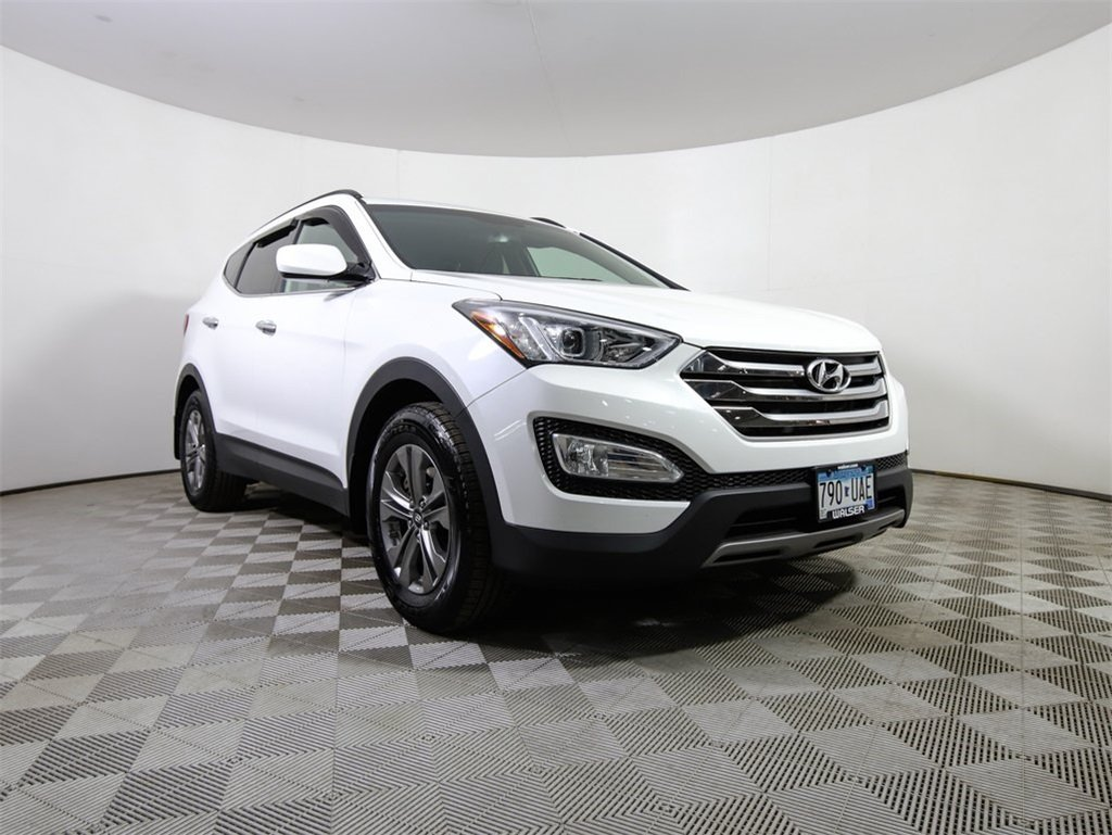 Certified Pre Owned 2016 Hyundai Santa Fe Sport Awd Pop Equip Htd Seats Backup Cam