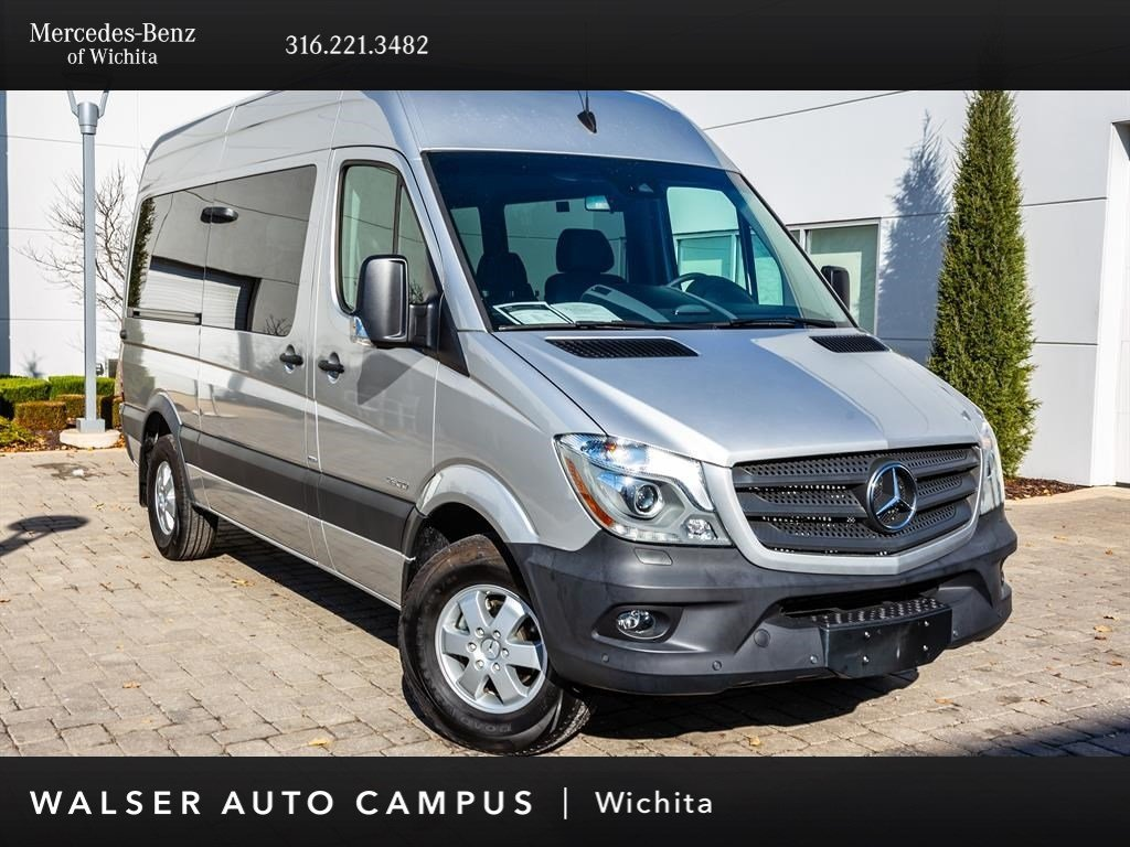 Pre Owned 2016 Mercedes Benz Sprinter Penger Vans 2500 144 Wb Navigation
