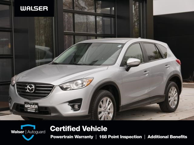 Certified Pre-Owned 2016 Mazda CX-5 Touring Nav Htd Seats