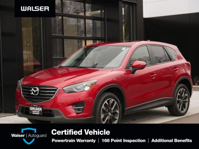 Pre-Owned 2016 Mazda CX-5 Grand Touring Tech Pkg Nav Htd Lthr