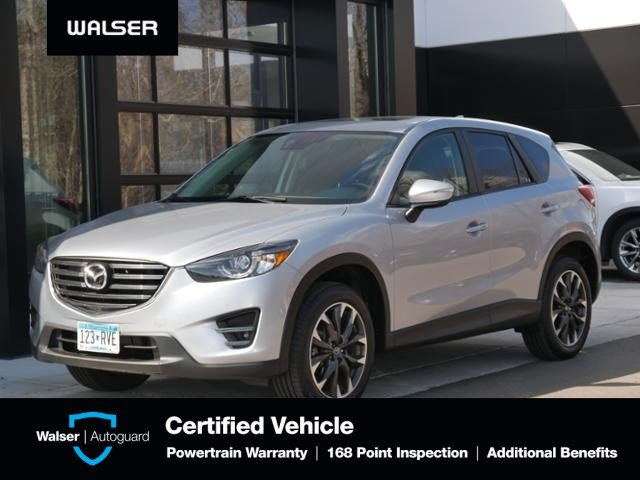 Pre-Owned 2016 Mazda CX-5 Grand Touring Htd Lthr Moon Bose