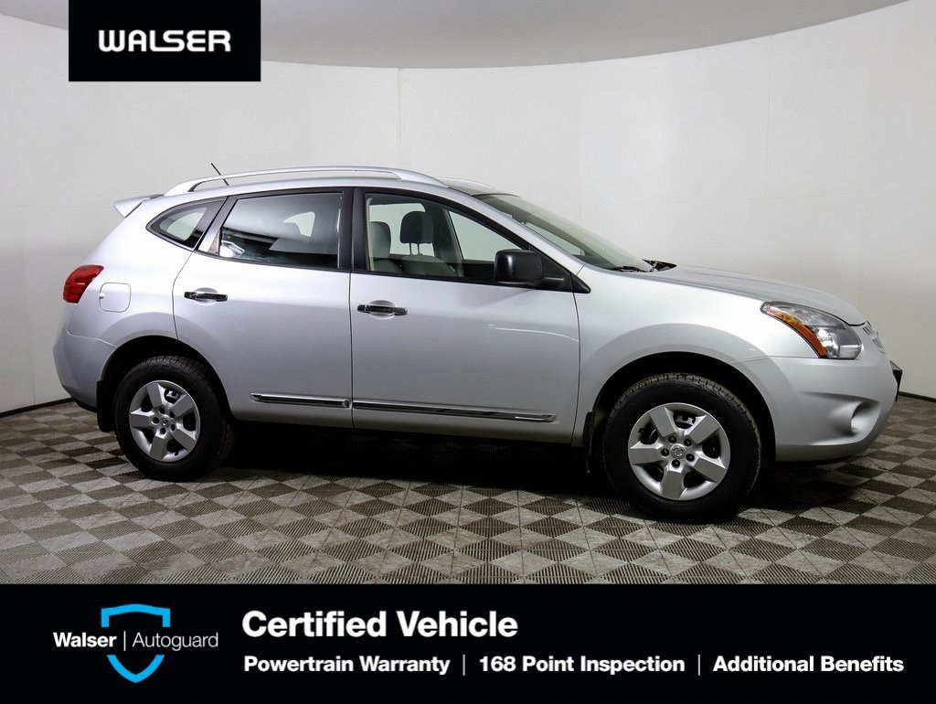 Nissan Rogue Select >> Pre Owned 2014 Nissan Rogue Select Select Awd Sport Utility In