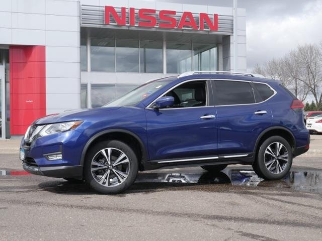 Certified Pre-Owned 2018 Nissan Rogue SL AWD CPO HTD LTHR BOSE BLIND SPOT APPLE CAR PLAY