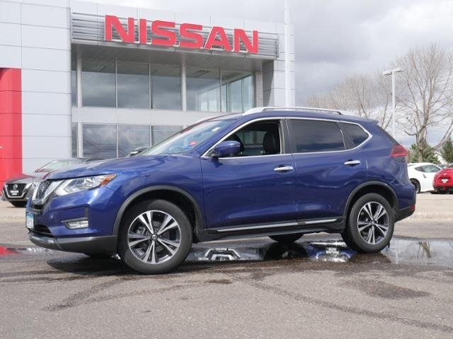 Certified Pre-Owned 2018 Nissan Rogue SL AWD CPO HTD STS BOSE BLIND SPOT APPLE CAR PLAY