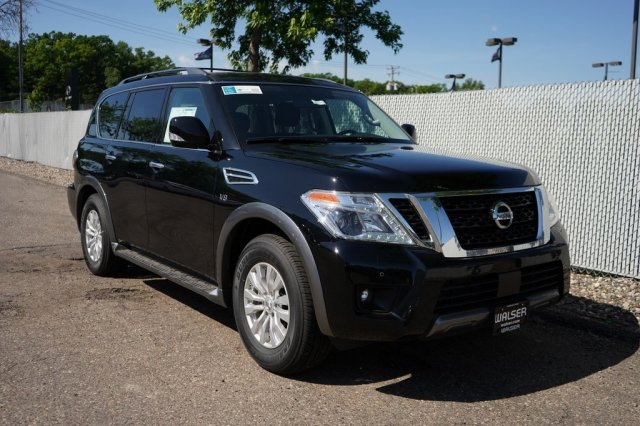 New 2019 Nissan Armada SV With Navigation & AWD