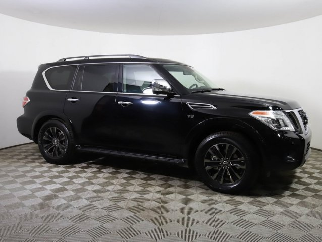 Certified Pre-Owned 2019 Nissan Armada *CERTIFIED* PLATINUM 4X4 NAV DVD ROOF BOSE LEATHER