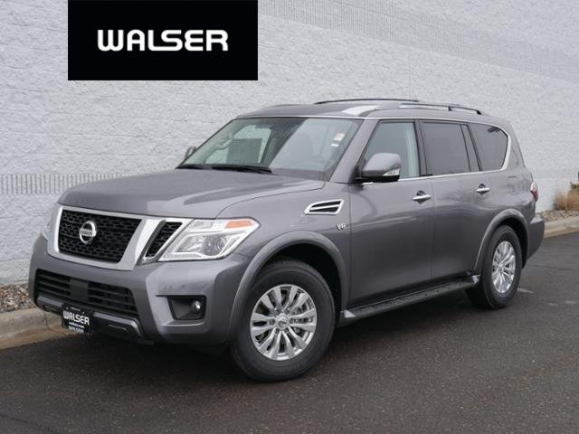 New 2019 Nissan Armada SV 4X4 DRIVERS PKG With Navigation & AWD