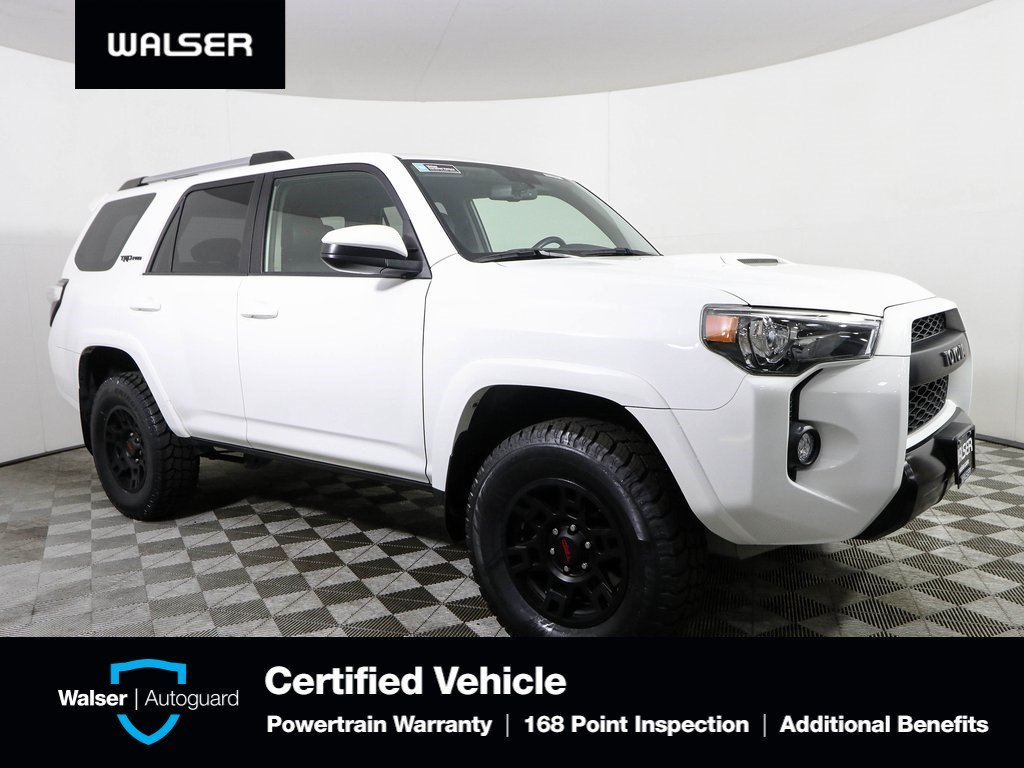 2017 Toyota 4Runner >> Pre Owned 2017 Toyota 4runner Trd Pro With Navigation 4wd