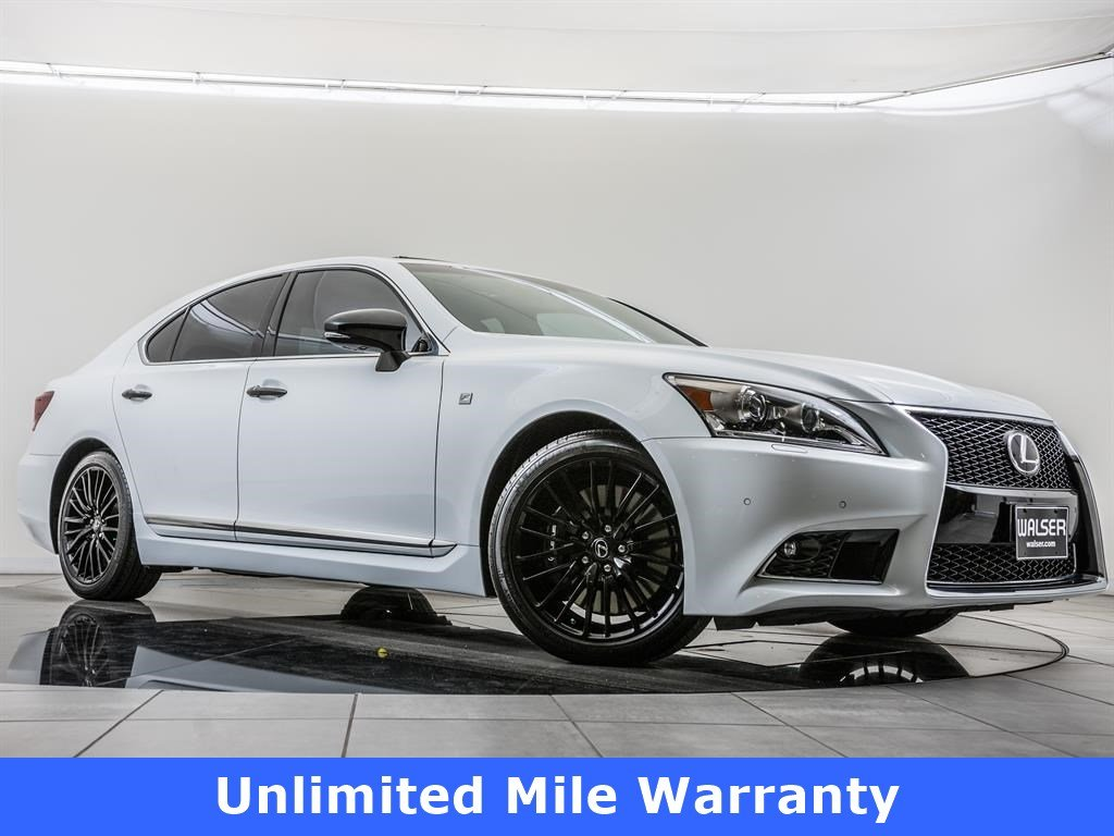 Certified Pre-Owned 2015 Lexus LS 460 Mark Levinson, Navi, Sunroof, RV Cam, Blnd Spt
