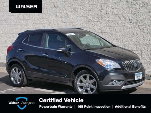 Pre-Owned 2016 Buick Encore LEATHER-FWD-MOON-NAV-BOSE-18 ALLOYS