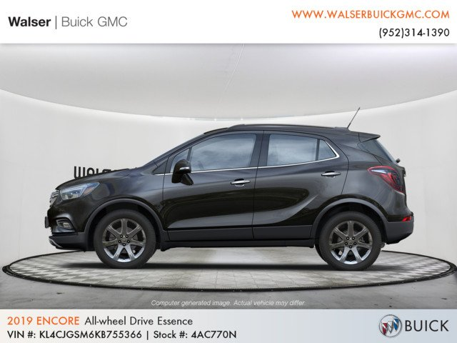 New 2019 Buick Encore Essence Sport Utility In 4ac770n Walser