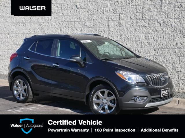 Pre Owned 2016 Buick Encore Premium Awd Moon Nav 18 Alloys