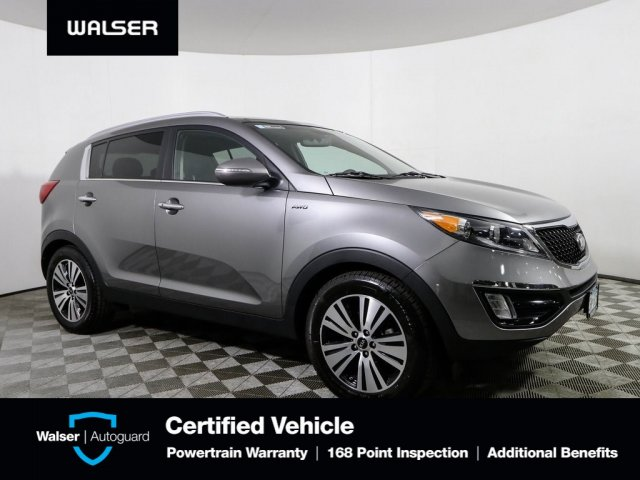 Pre-Owned 2016 Kia Sportage EX w/ Premium Package