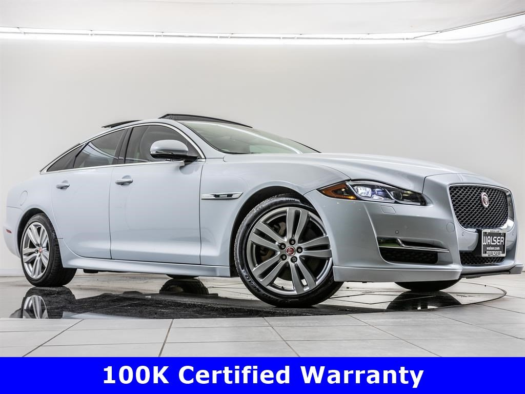 Certified Pre-Owned 2016 Jaguar XJ R-Sport, 100K Certified Warranty, 19-Inch Wheels
