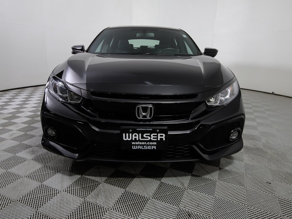 Pre Owned 2017 Honda Civic Ex L 4d Hatchback In 14am010p Walser