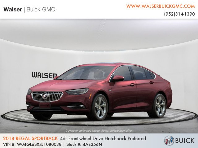 New 2018 Buick Regal Sportback Preferred FWD