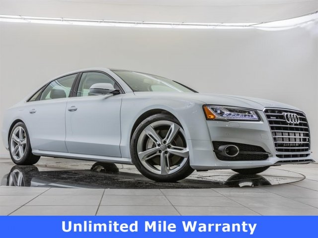 Certified Pre-Owned 2018 Audi A8 L 2018 AUDI A8 L 3.0T (TIPTRONIC) (NO LONGER AVAILABLE FOR ORDERING) 4DR SDN AWD