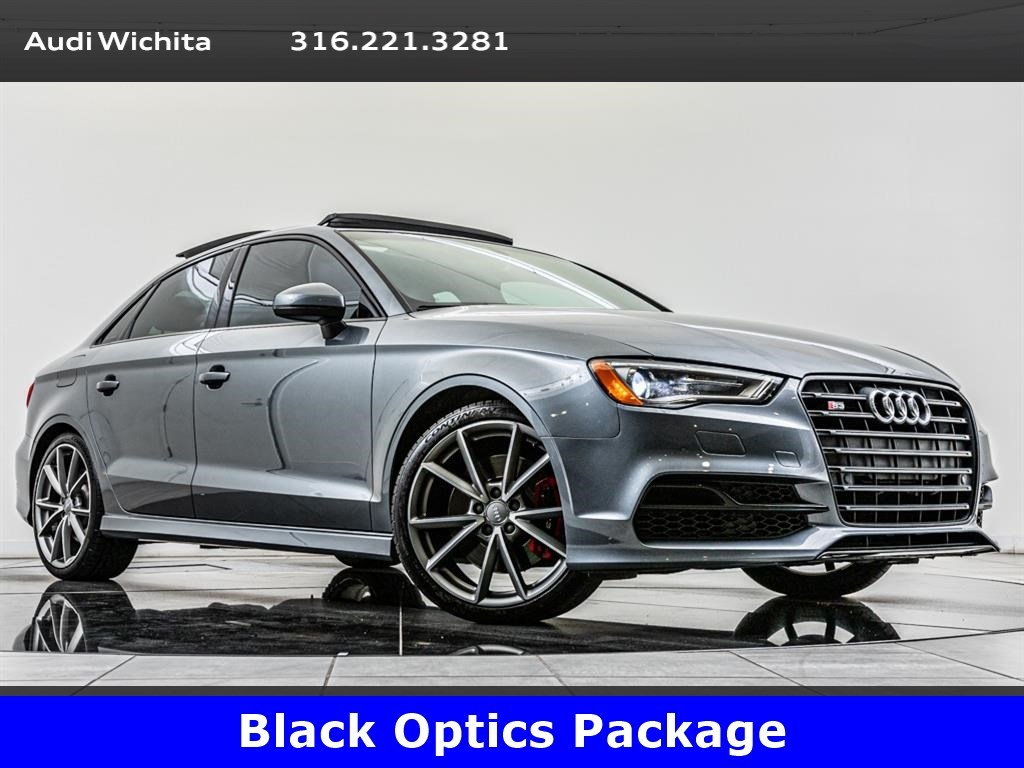 Pre-Owned 2016 Audi S3 2 0T Premium Plus quattro, Black Optics Pkg AWD