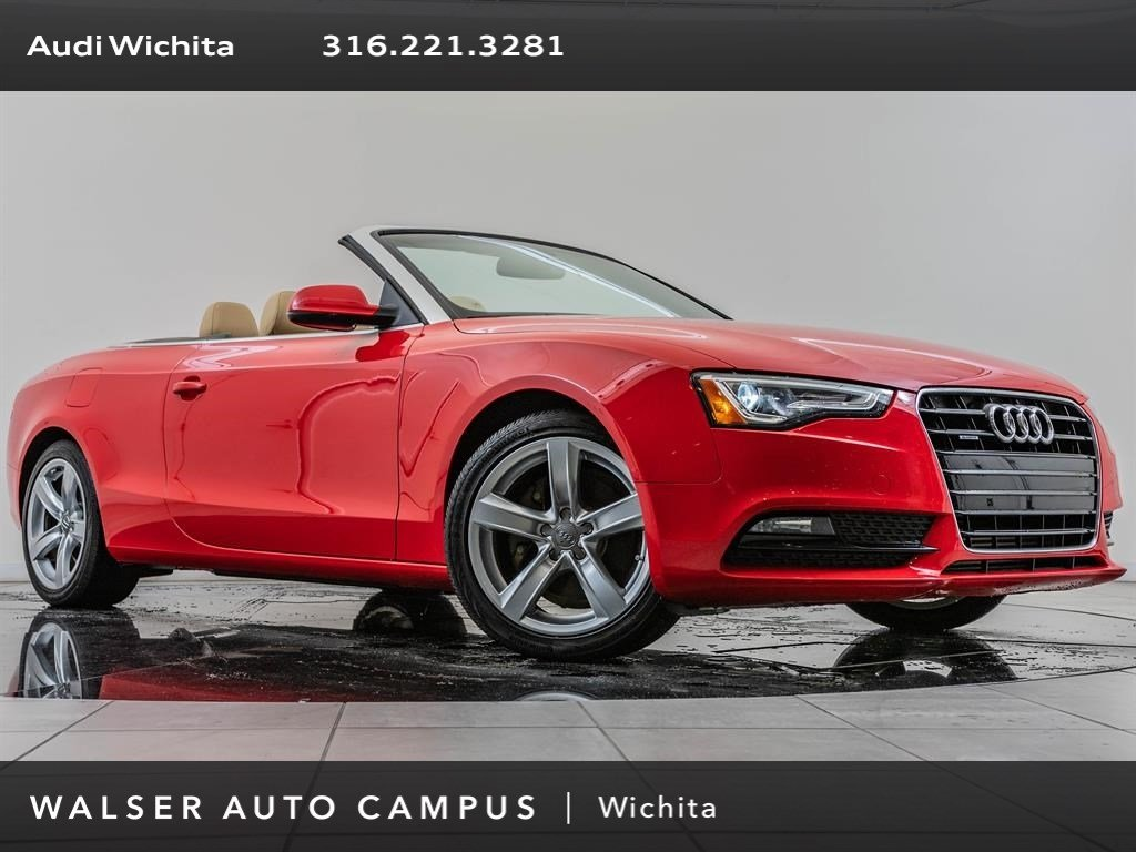 Pre-Owned 2015 Audi A5 2.0T Premium quattro, Exceptional Maintenance