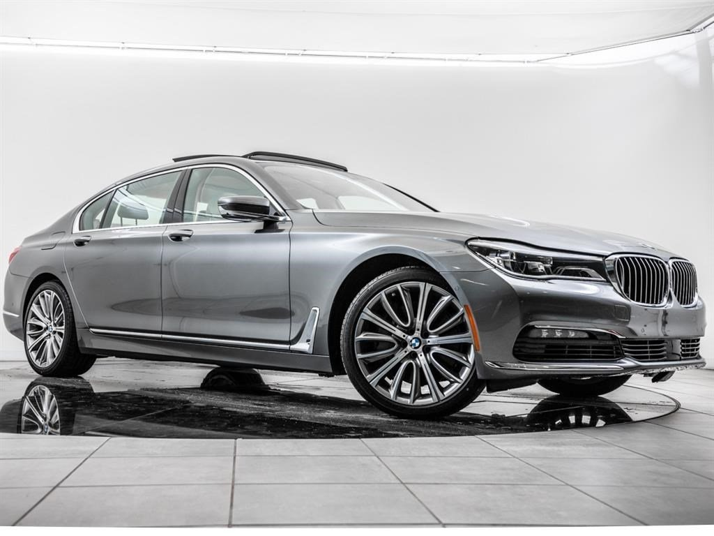 Certified Pre-Owned 2016 BMW 7 Series 750i xDrive, Driv Ast Plus I & II, Exec Pkg, Navi