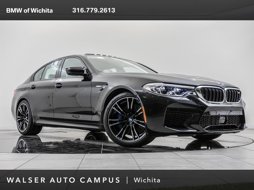 New 2019 BMW M5 SEDAN With Navigation & AWD