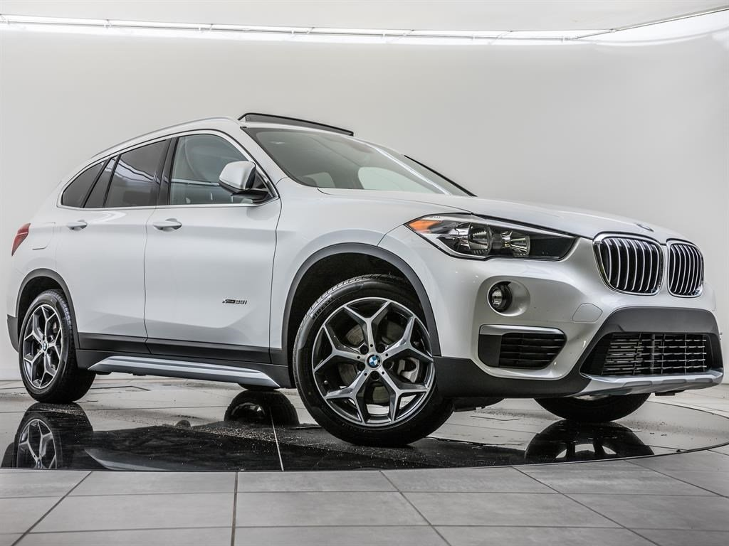 Certified Pre-Owned 2018 BMW X1 xDrive28i, Navi, Pano Rf, RV Cam, Htd Sts, CarPlay