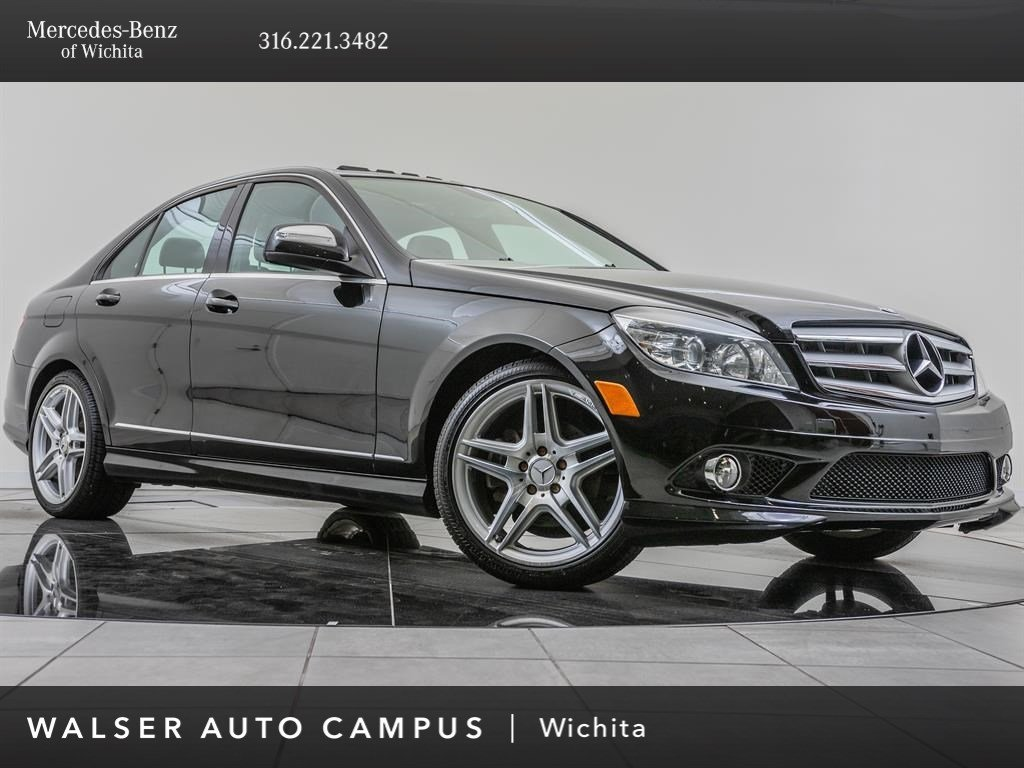 Pre Owned 2009 Mercedes Benz C Class C300 Sport Amg Sportline Amg Wheels Rwd