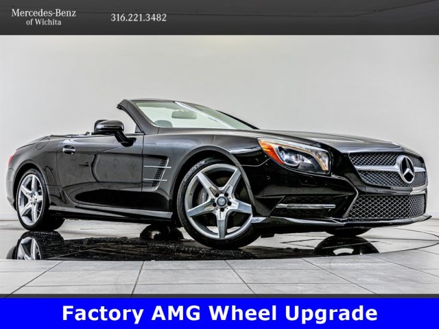 Pre-Owned 2015 Mercedes-Benz SL-Class SL 400, 19-Inch AMG® Wheels