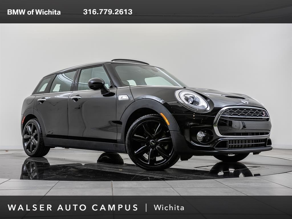 Pre-Owned 2018 MINI Clubman Cooper S, harman/kardon audio, Panoramic Sunroof