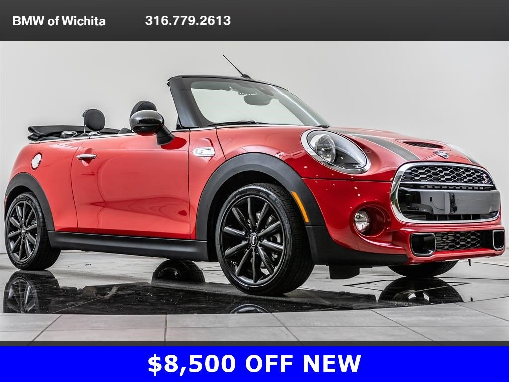 Pre Owned 2019 Mini Convertible Cooper S 17 Cosmos Whls Rv Cam