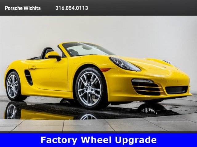 Pre-Owned 2013 Porsche Boxster Upgraded 19-Inch Wheels