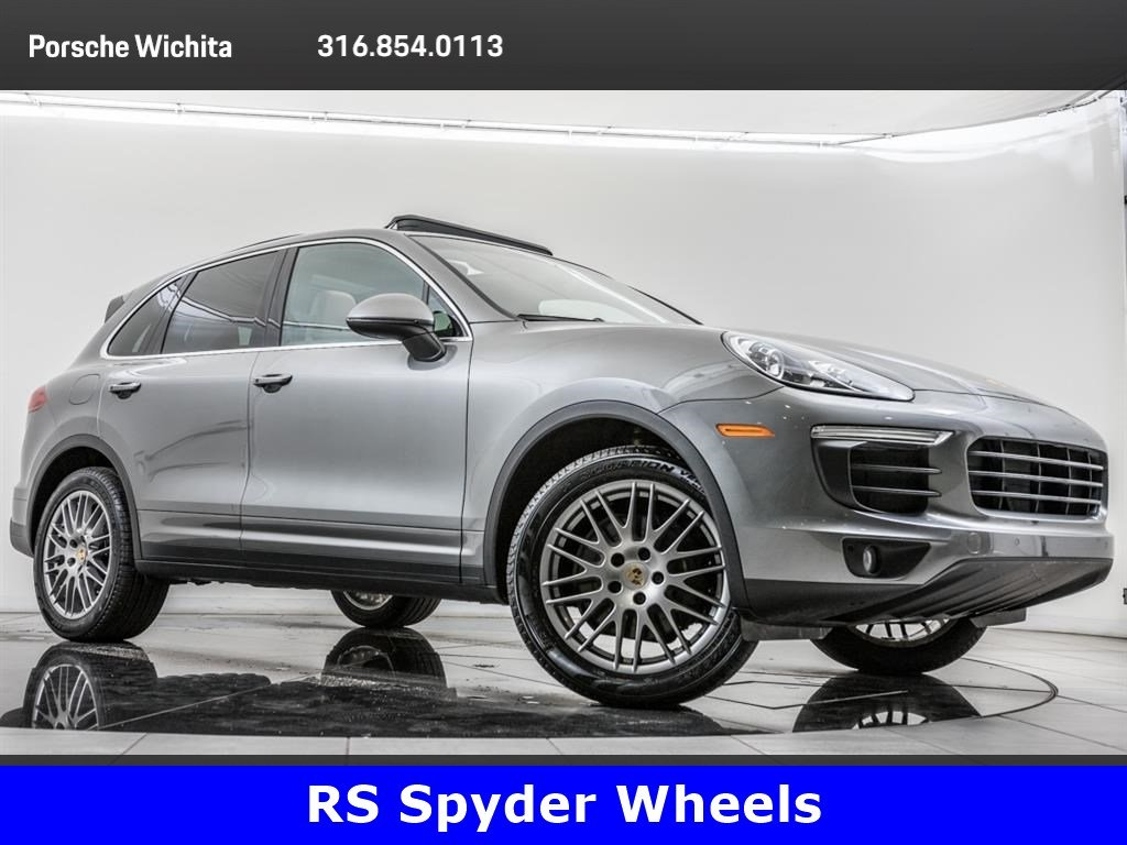 Pre-Owned 2016 Porsche Cayenne 20-Inch RS Spyder Wheels, Premium Package