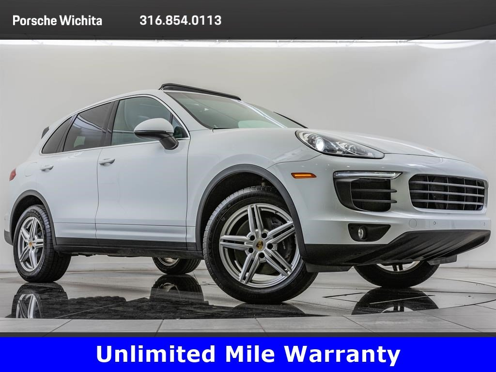 Certified Pre-Owned 2016 Porsche Cayenne Upgraded Wheels, Premium Package