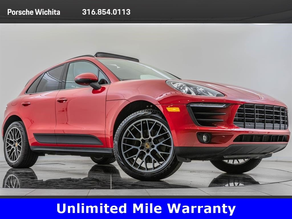 Certified Pre-Owned 2017 Porsche Macan Premium Package Plus, Upgraded Wheels