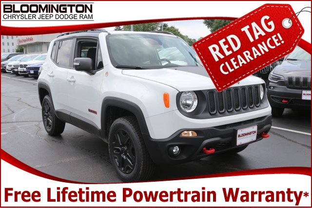New 2018 Jeep Renegade Trailhawk 4WD
