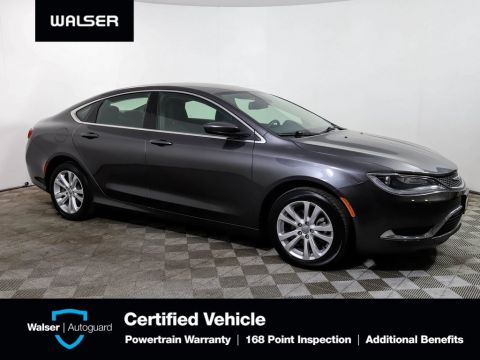 Pre-Owned 2016 Chrysler 200 LIMITED BACKUP CAMERA POWER SEAT ALLOY BLUETOOTH