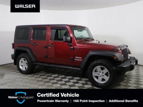 Pre-Owned 2013 Jeep Wrangler Unlimited Unlimited Sport