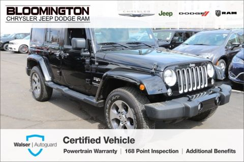 Pre-Owned 2018 Jeep Wrangler JK Unlimited Unlimited Sahara Hard Top Nav Auto