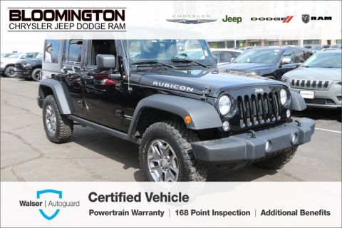 Pre-Owned 2018 Jeep Wrangler JK Unlimited Unlimited Rubicon Navigation Heated Leather Seats