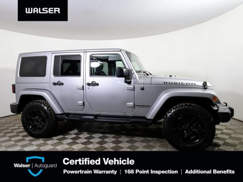 Pre-Owned 2016 Jeep Wrangler Unlimited RUBICON 4X4