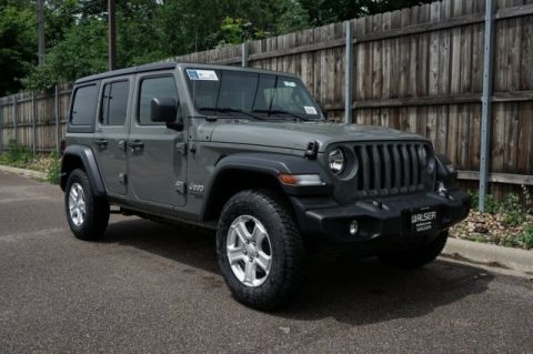 New 2019 Jeep Wrangler Unlimited JEEP WRANGLER UNLIMITED SPORT